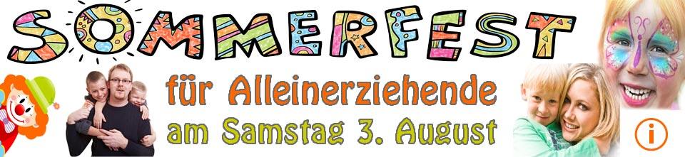 Sommerfest für Alleinerziehende am Samstag 3. August 2019 in Berlin