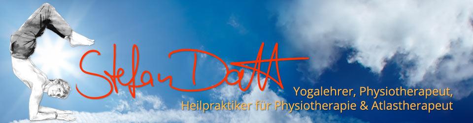 Stefan Datt - Yogalehrer, Physiotherapeut, Heilpraktiker für Physiotherapie & Atlastherapeut
